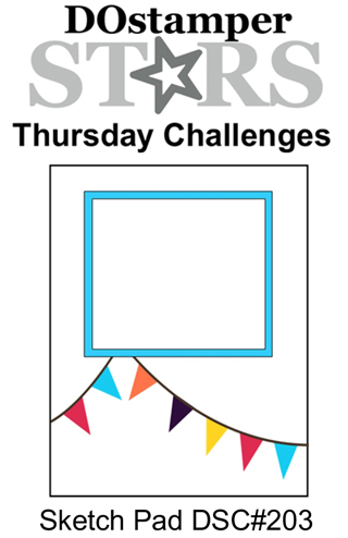DOSstamperSTARS Thursday Challenge #203-Sketch Pad