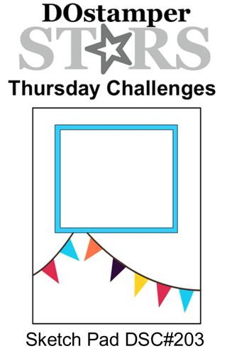 DOSstamperSTARS Thursday Challenge #203-Sketch Pad