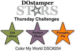 DOSstamperSTARS Thursday Challenge #204-Color My World