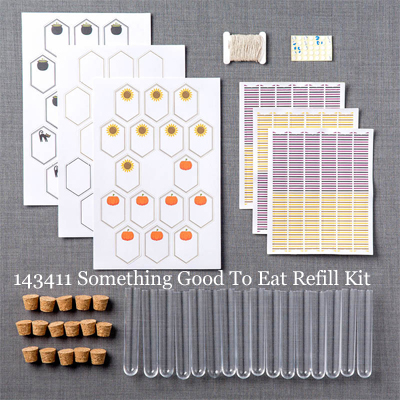 Stampin' Up! Paper Pumpkin Sept 2016 Refill Kit Something Good to Eat #dostamping