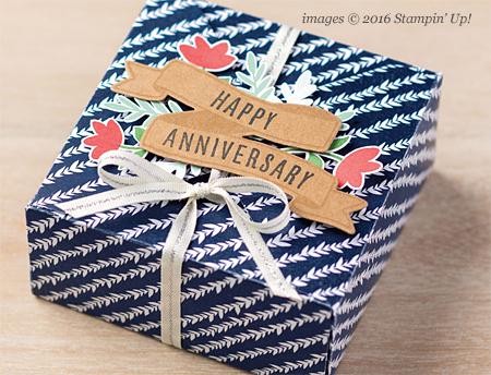 Stampin' Up! Floral Boutique Designer Series Paper #dostamping