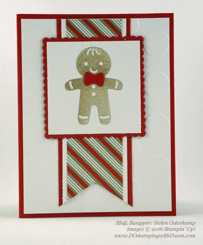 Stampin' Up! Cookie Cutter Bundle swap cards shared by Dawn Olchefske #dostamping #stampinup (Helen Osterkamp)