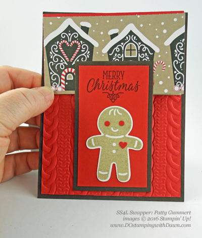 Stampin' Up! Cookie Cutter Christmas swap cards shared by Dawn Olchefske #dostamping #stampinup (Patty Gummert)