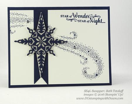Stampin' Up! Star of Light bundle swap cards shared by Dawn Olchefske #dostamping #stampinup (Beth Tetzlaff)