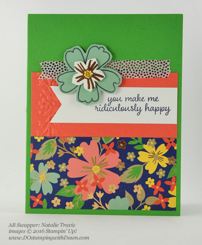 Affectionately Yours Swap card shared by Dawn Olchefske #dostamping (Natalie Travis)