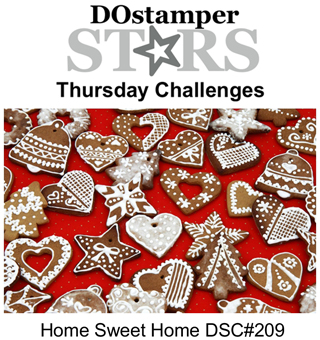DOstamperSTARS Thursday Challenge #209-Home Sweet Home