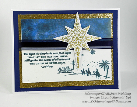 Star of Light Bundle card shared by Dawn Olchefske #dostamping (Joan Weidling)