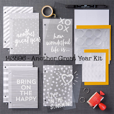 Stampin' Up! Paper Pumpkin Dec 2016 Kit Another Great Year shared by Dawn Olchefske #dostamping