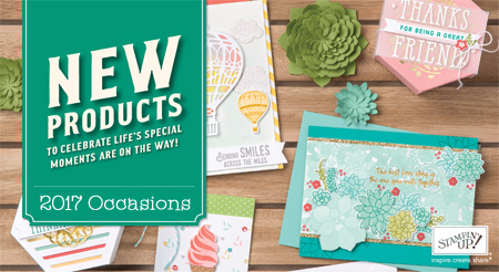 Stampin' Up! 2017 Occasions Catalog, shop with Dawn Olchefske #dostamping
