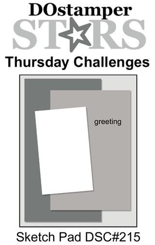 DOstamperSTARS Thursday Challenge #215-Sketch Pad