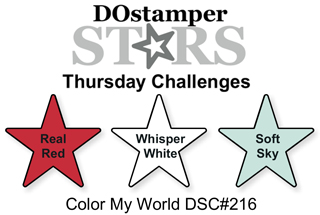 DOstamperSTARS Thursday Challenge #216-Color My World