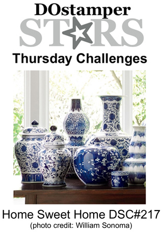 DOSstamperSTARS Thursday Challenge #217-Home Sweet Home