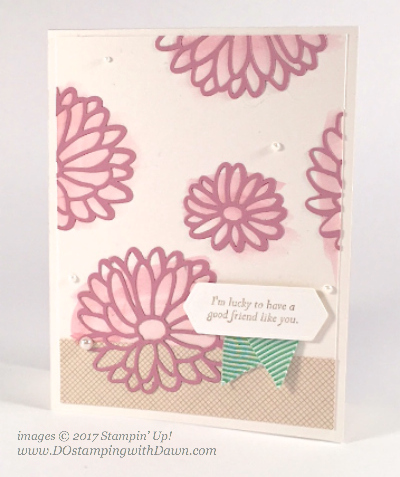 Stampin' Up! Stylish Stems Framelits & Special Reason stamp set card shared by Dawn Olchefske #dostamping