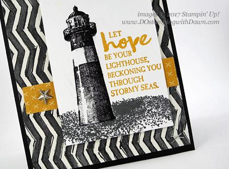 Stampin' Up! High Tide card shared by Dawn Olchefske #dostamping