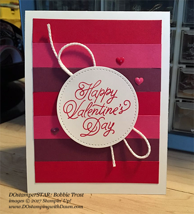 Valentine projects created by DOstamperSTARS #dostamping (Bobbie Trost)