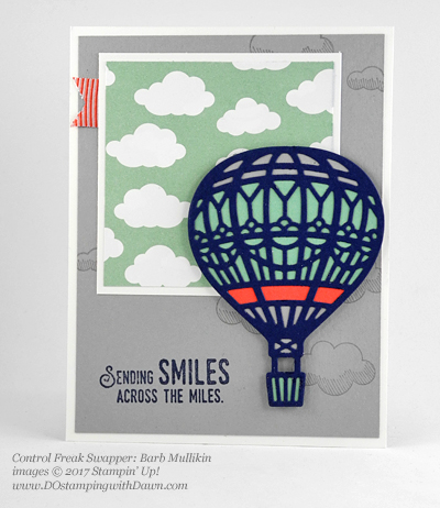 Stampin' Up! Sale-A-Bration Inspiration swap cards shared by Dawn Olchefske #dostamping (Barb Mulikin)