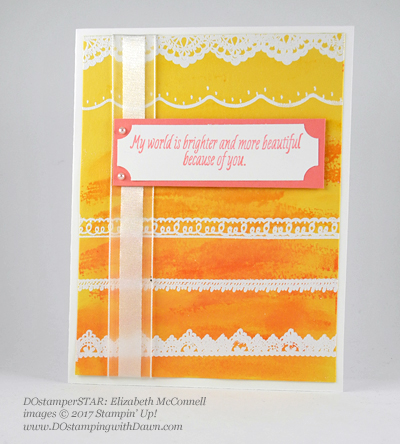 Stampin' Up! DOstamper STARS SAB Inspiration swap cards shared by Dawn Olchefske #dostamping (Elizabeth McConnell)