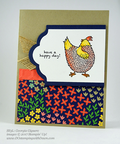 Stampin' Up! Watercolor Pencils swaps shared by Dawn Olchefske #dostamping (Georgia Giguere)