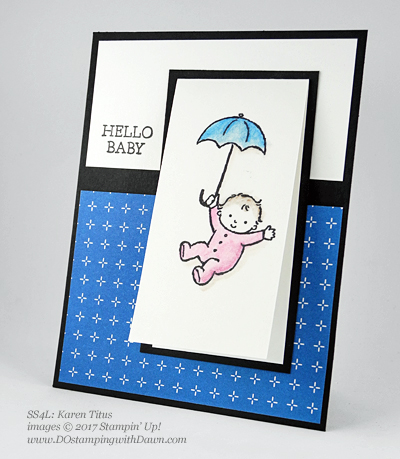 Stampin' Up! Watercolor Pencils swaps shared by Dawn Olchefske #dostamping (Karen Titus)