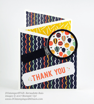 DOstamper STARS Stampin' Up! Sale-a-Bration card shared by Dawn Olchefske #dostamping(Bernadette Baio)