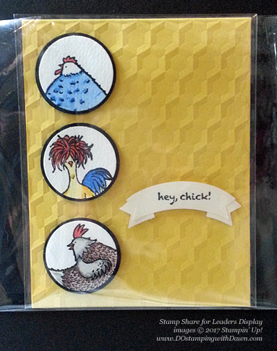 Stampin' Up!Sale-a-Bration Hey Chick card shared by Dawn Olchefske #dostamping