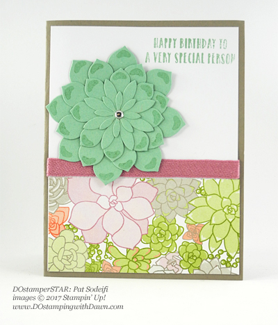 Stampin' Up! 2017 Occasions Catalog swap cards shared by Dawn Olchefske #dostamping (Pat Sodeifi)
