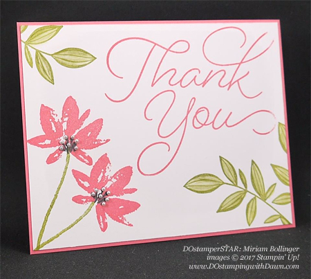 DOstamper STARS Stampin' Up! Sale-a-Bration cards shared by Dawn Olchefske #dostamping (Miriam Bollinger)