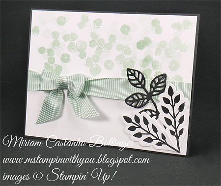 Stampin' Up! DOstamper STARS Friday Feature cards shared by Dawn Olchefske #dostamping (Miriam Bollinger)