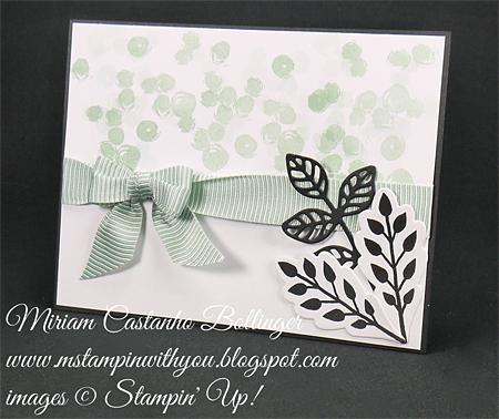 Stampin' Up! DOstamper STARS Friday Featurecards shared by Dawn Olchefske #dostamping(Miriam Bollinger)