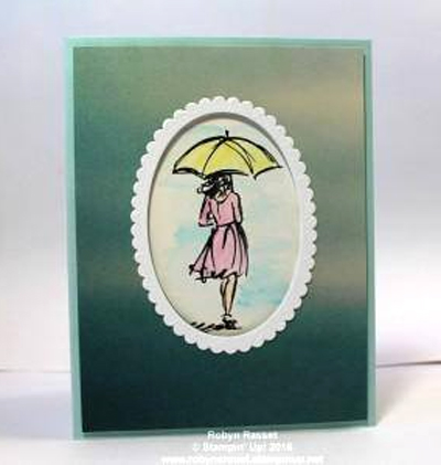 Stampin' Up! DOstamper STARS Friday Feature cards shared by Dawn Olchefske #dostamping (Beautiful You-Robyn Rasset)