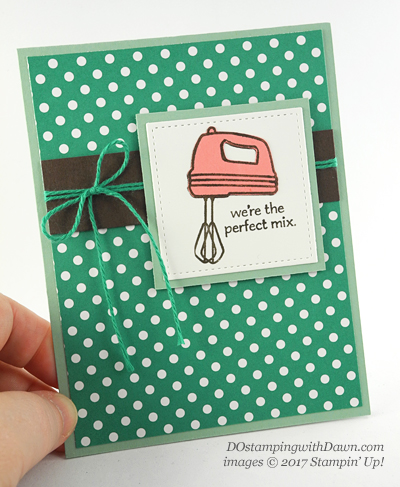 Stampin' Up! Perfect Mix cardshared by Dawn Olchefske #dostamping
