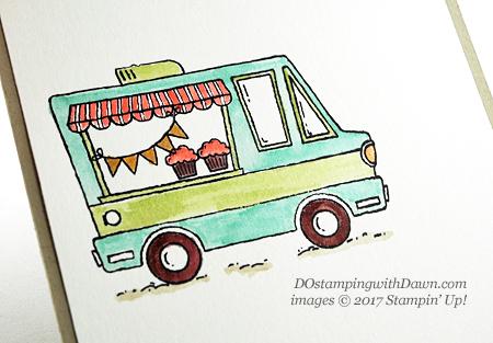 Stampin' Up! Sale-a-Bration Tasty Trucksshared by Dawn Olchefske #dostamping