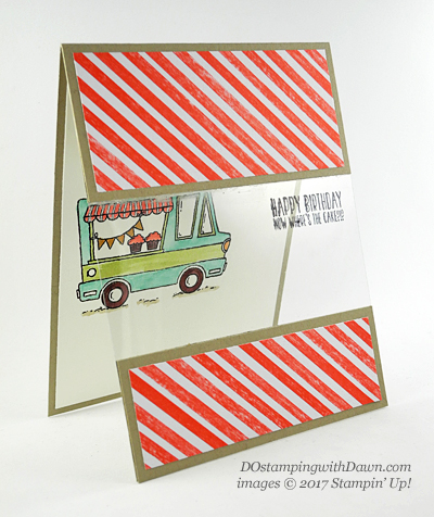 Stampin' Up! Sale-a-Bration Tasty Trucks shared by Dawn Olchefske #dostamping