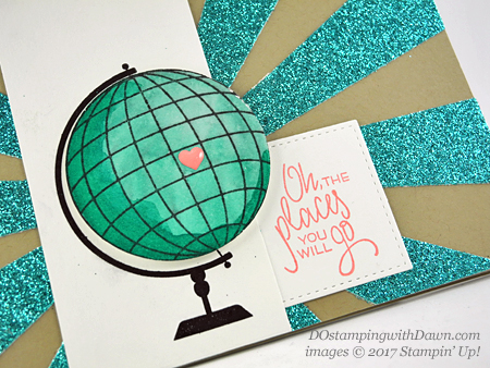 Stampin' Up! Places You'll Go card sharedby Dawn Olchefske #dostamping