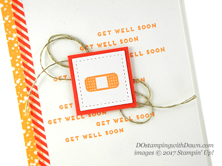 Stampin' Up! Iconic Occasions Stampin' Rewards card shared by Dawn Olchefske #dostamping