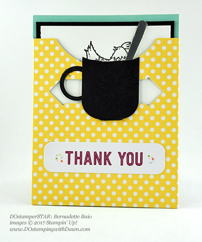 Stampin' Up! DOstamper STARS Friday Feature cards shared by Dawn Olchefske #dostamping (Bernadette Baio)
