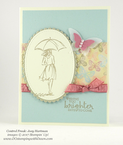 Stampin' Up! Beautiful You swap cards shared by Dawn Olchefske #dostamping (Joey Hartman)