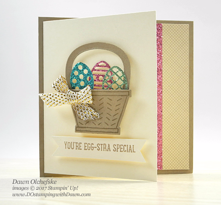 Stampin' Up! Basket Bunch Bundle card created by Dawn Olchefske for DOstamperSTARS Thursday Challenge #DSC221 #dostamping