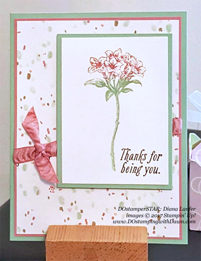 Stampin' Up! DOstamper STARS Friday Feature cards shared by Dawn Olchefske #dostamping (Diana Lanfer)
