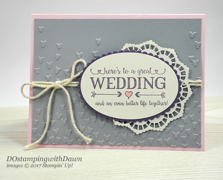 Stampin' Up! Better Together card shared by Dawn Olchefske #dostamping