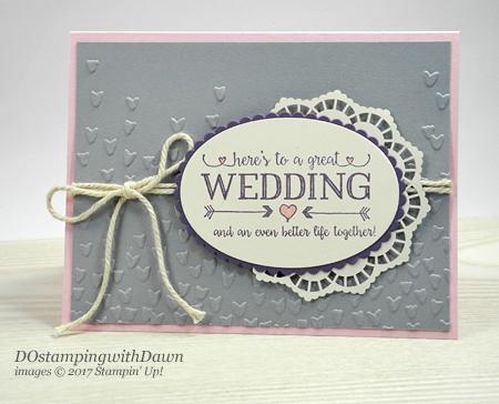 Stampin' Up! Better Together cardshared by Dawn Olchefske #dostamping