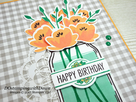 Stampin' Up! Jar of Love Bundle and That's the Tag Bundle card shared by Dawn Olchefske for DOstamperSTARS Thursday Challenge #DSC225 #dostamping