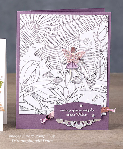 Stampin' Up! Sale-a-Bration Inside The Lines Designer Series Paper shared by Dawn Olchefske #dostamping