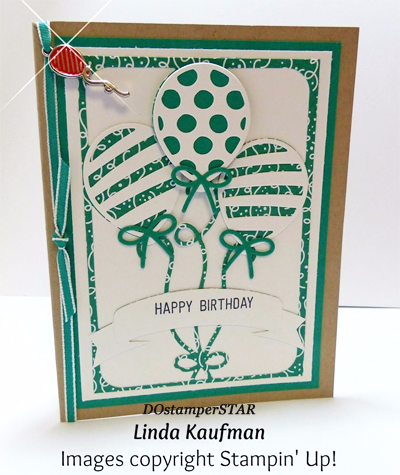 Stampin' Up! Party Animal Create & Play Kit for DOstamperSTARS shared by Dawn Olchefske #dostamping (Linda Kaufman)