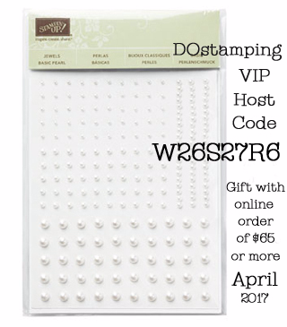 DOstamping VIP Host Code W26S27R6 - April 2017, Shop with Dawn O