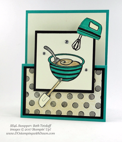 Stampin' Up! Perfect Mix swap cards shared by Dawn Olchefske #dostamping (Beth Tetzlaff)