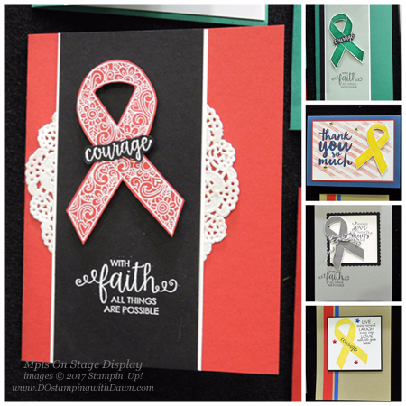 NEW Stampin' Up! Ribbon of Courage stamp set coming June 1 #dostamping