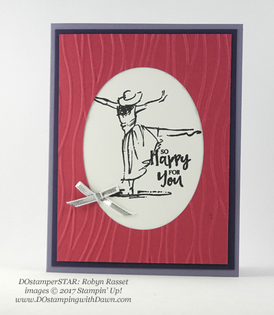Stampin' Up! DOstamper STARS Friday Feature swap cards shared by Dawn Olchefske #dostamping (Robyn Rasset)