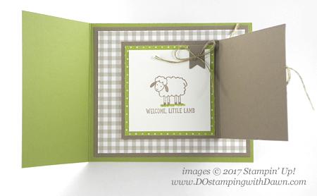 Stampin' Up! Barnyard Babies stamp setshared by Dawn Olchefske #dostamping