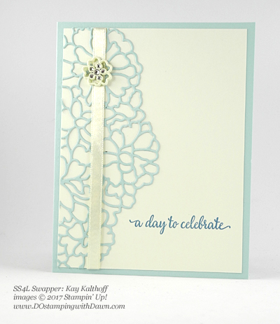 Stampin' Up! So in Love swap cards shared by Dawn Olchefske #dostamping (Kay Kalthoff)